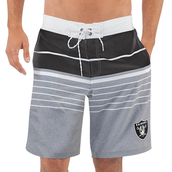 Oakland Raiders NFL G-III Balance Men's Boardshorts Swim Trunks