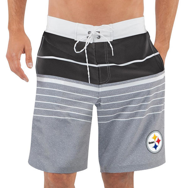 Pittsburgh Steelers NFL G-III Balance Men's Boardshorts Swim Trunks