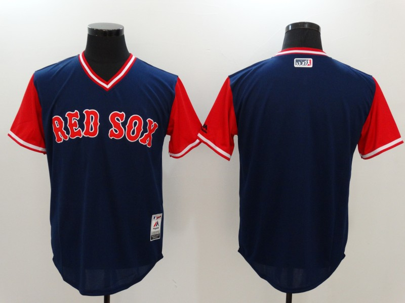 Red Sox Majestic Navy 2017 Players Weekend Team Jersey