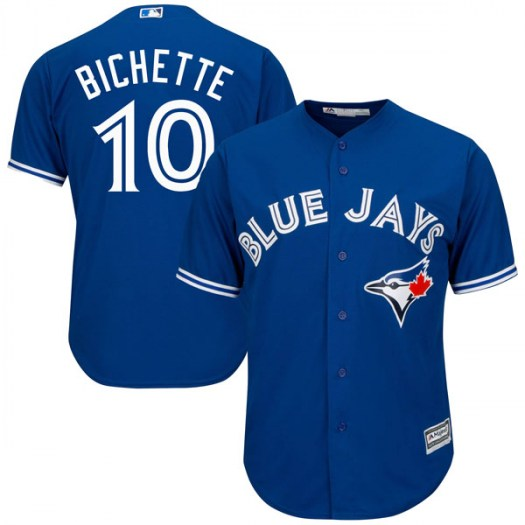 Blue Jays 10 Bo Bichette Royal Cool Base Jersey