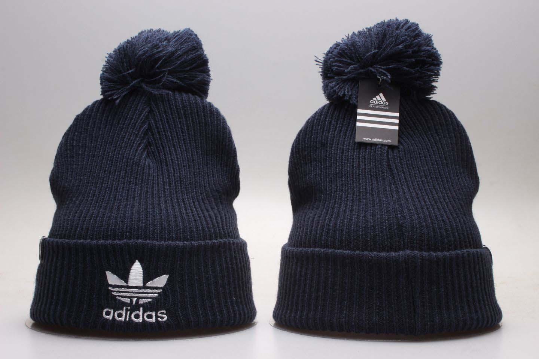 Adidas Originals Navy Fashion Sport Pom Knit Hat YP