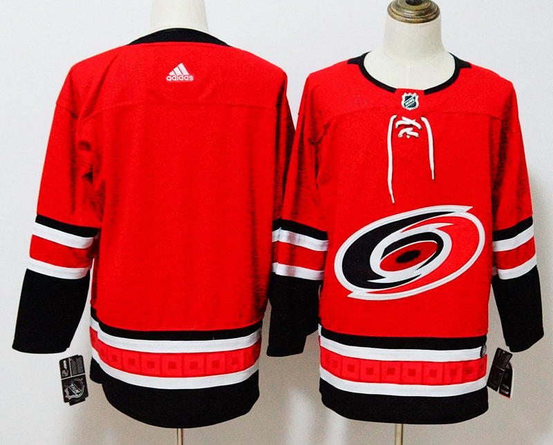 Hurricanes Blank Red Adidas Jersey