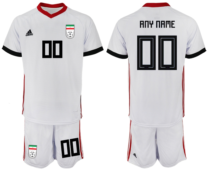 Iran Home 2018 FIFA World Cup Men's Customized Jersey