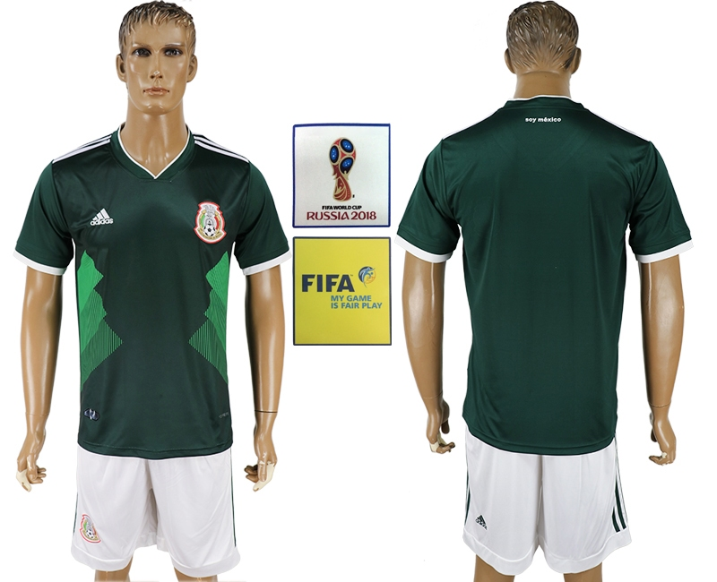 Mexico Home 2018 FIFA World Cup Men's Customized Jersey