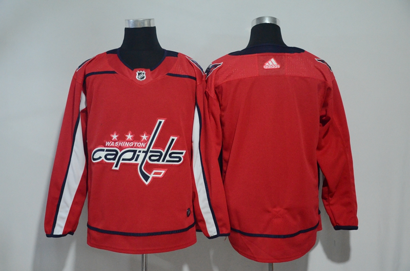 Capitals Blank Red Adidas Jersey