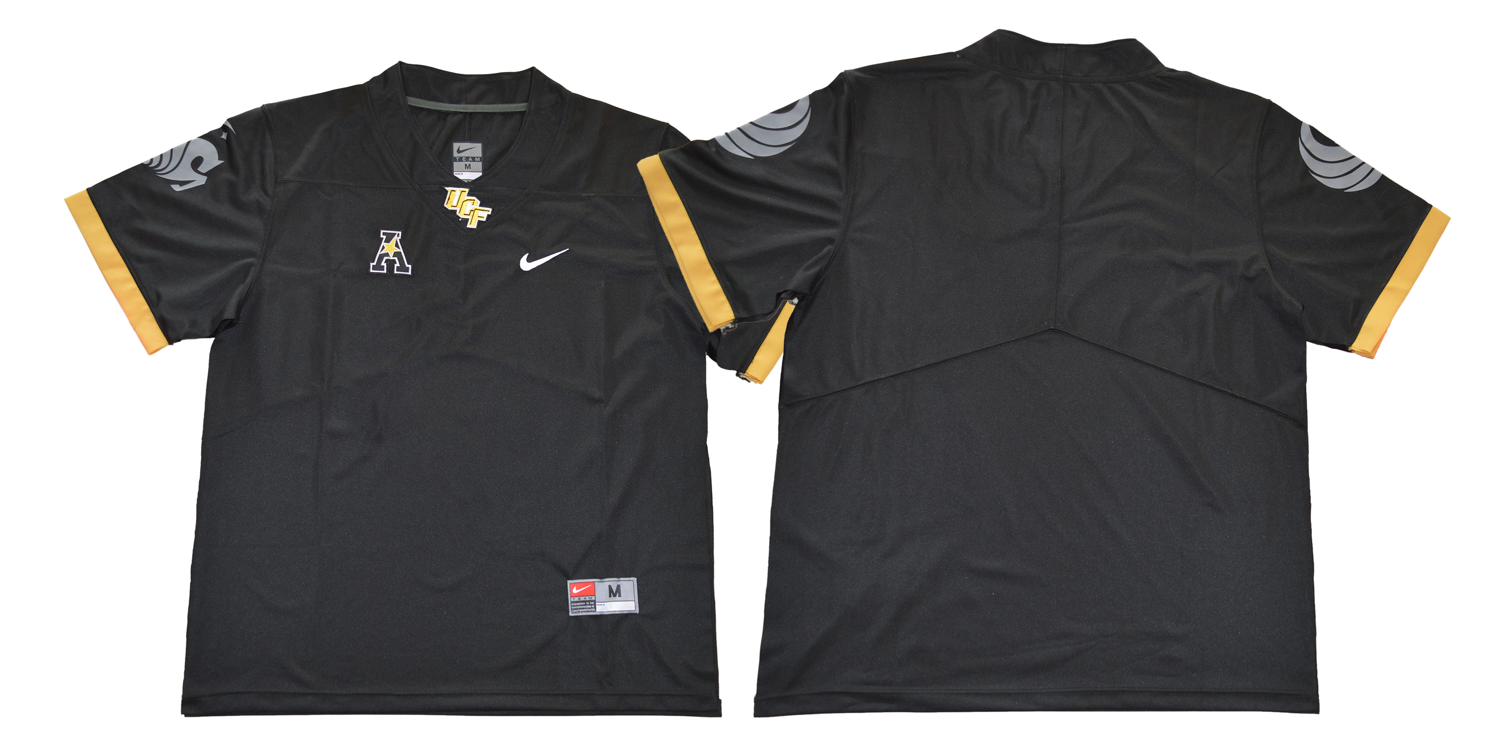 UCF Knights Blank Black College Football Jersey