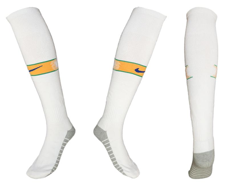 Brazil Green Thailand Soccer Socks