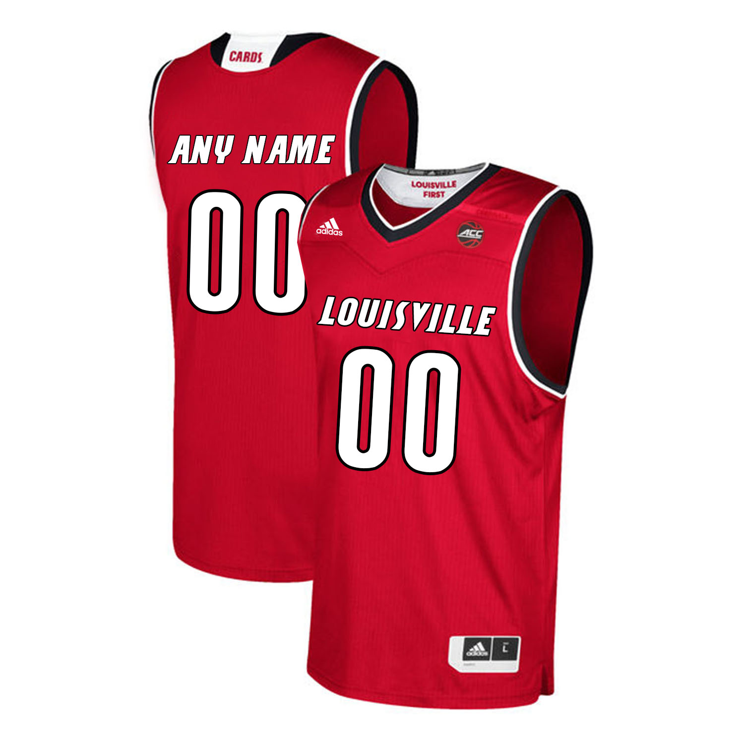 Louisville Cardinals Customized Red College Basketball Jersey
