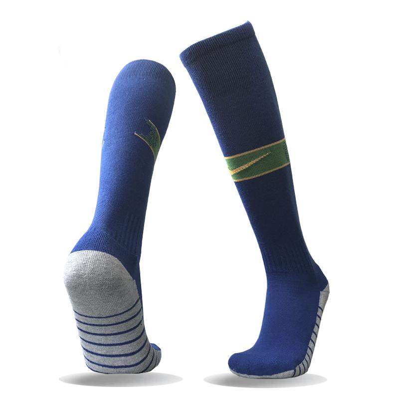 Brazil Away Youth 2018 FIFA World Cup Thailand Soccer Socks