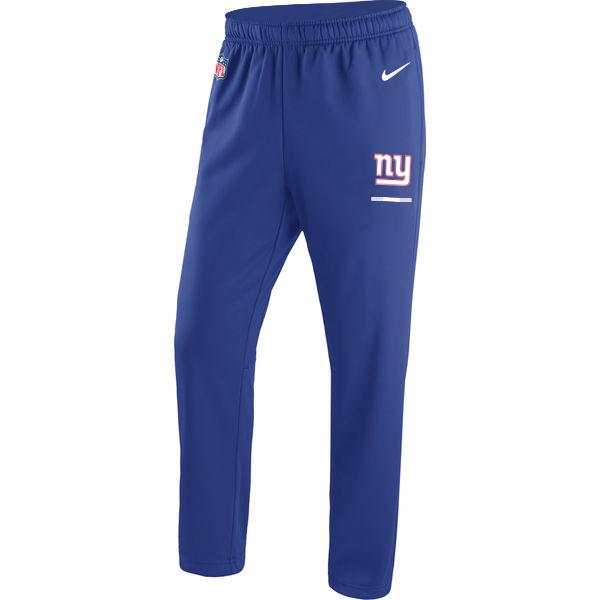 New York Giants Nike Circuit Sideline Team Logo Performance Pants Royal