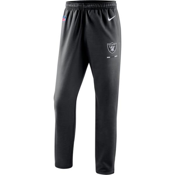 Oakland Raiders Nike Sideline Team Logo Performance Pants Black