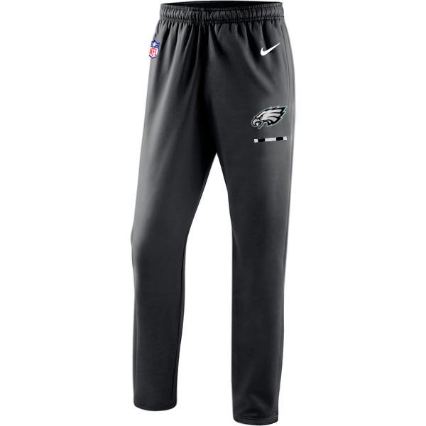 Philadelphia Eagles Nike Sideline Team Logo Performance Pants Black