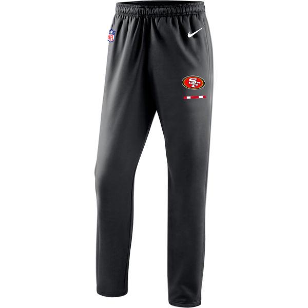 San Francisco 49ers Nike Sideline Team Logo Performance Pants Black