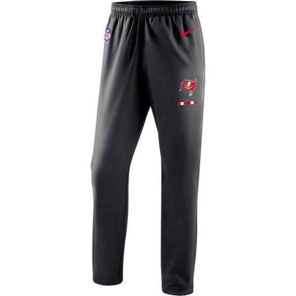 Tampa Bay Buccaneers Nike Sideline Team Logo Performance Pants Black