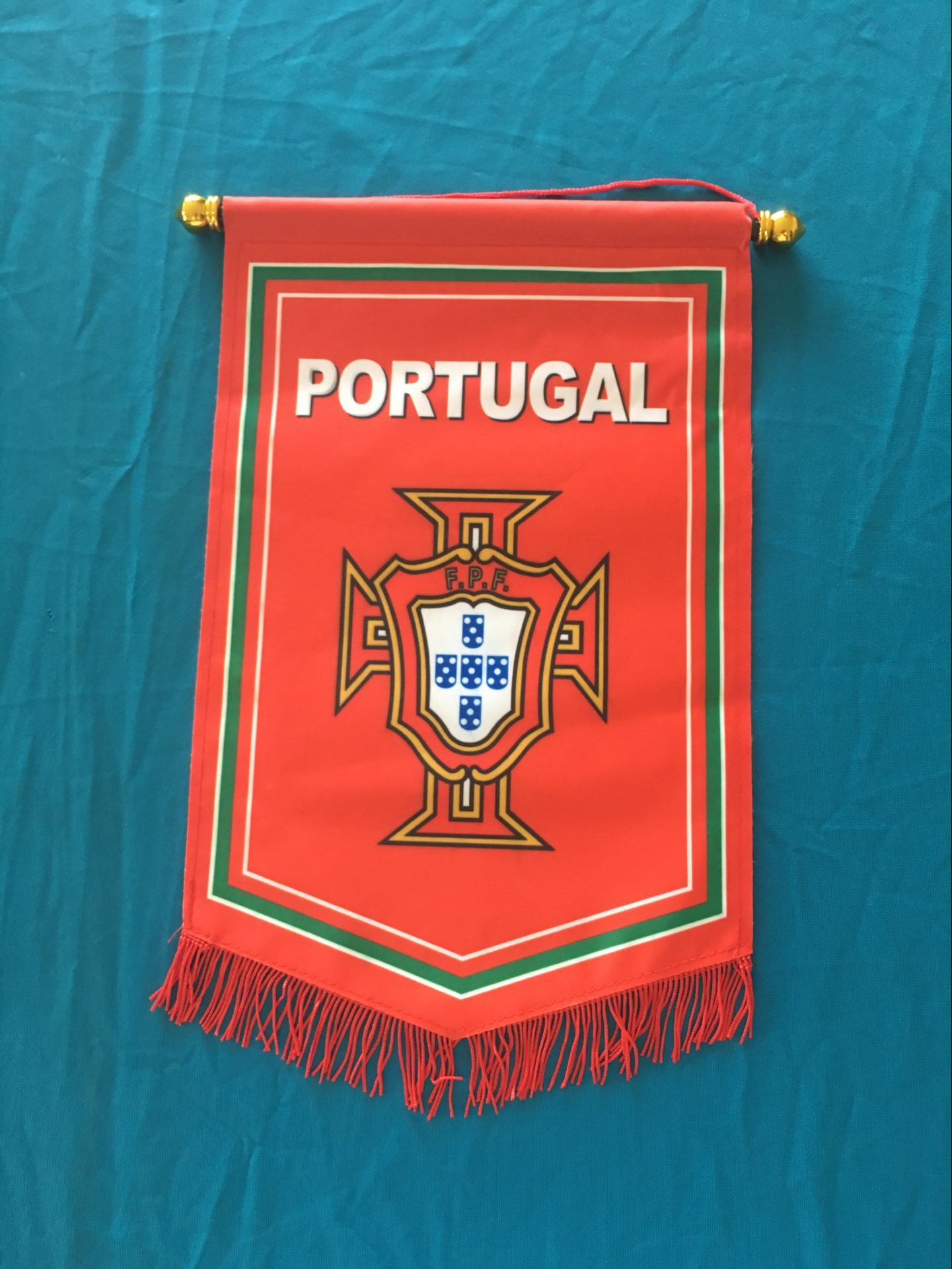 Portugal Hang Flag Decor Football Fans Souvenir