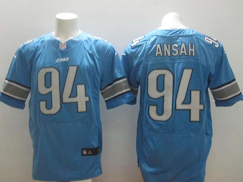 Nike Lions 94 Ansah Blue Elite Jersey
