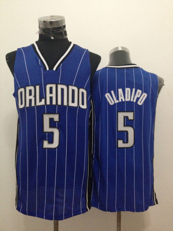 Magic 5 Oladipo Blue New Revolution 30 Jerseys