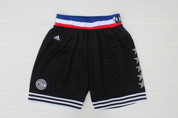2015 NBA All Star NYC Western Conference Black Shorts