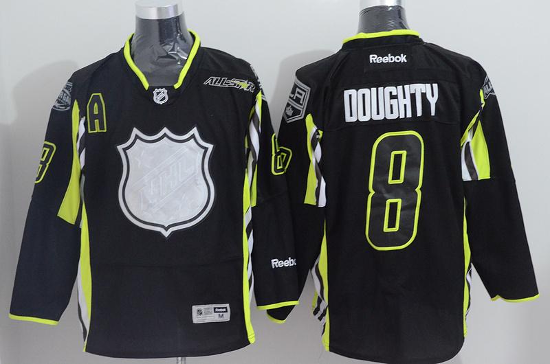 Kings 8 Doughty Black 2015 All Star Jersey