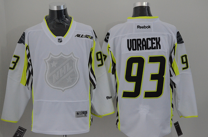 Flyers 93 Voracek White 2015 All Star Jersey