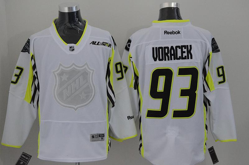 Flyers 93 Voracek White 2015 All Star Jersey