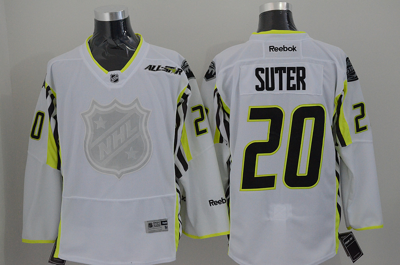 Wild 20 Suter White 2015 All Star Jersey