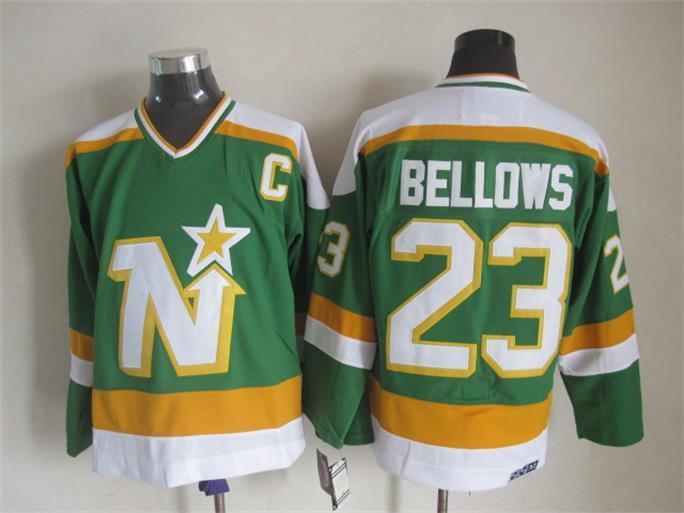 Stars 23 Bellows Green C Patch CCM Jersey