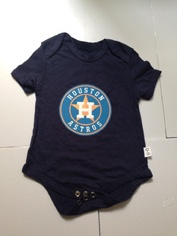 Astros Navy Toddler T-shirts