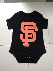 Giants Black Toddler T-shirts