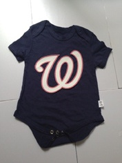 Nationals Navy Toddler T-shirts