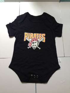 Pirates Black Toddler T-shirts
