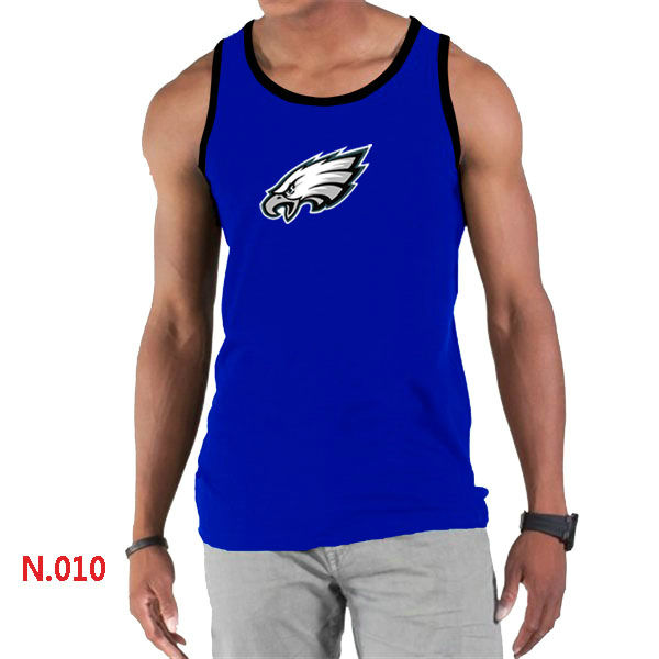 Nike Eagles Sideline Legend Logo men Tank Top Blue