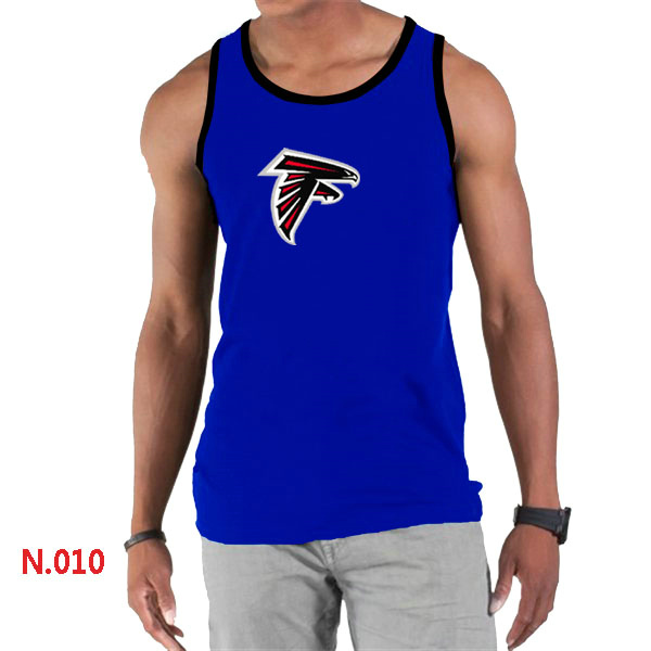 Nike Falcons Sideline Legend Logo men Tank Top Blue