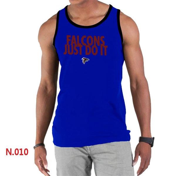 Nike Falcons Sideline Legend Logo men Tank Top Blue2