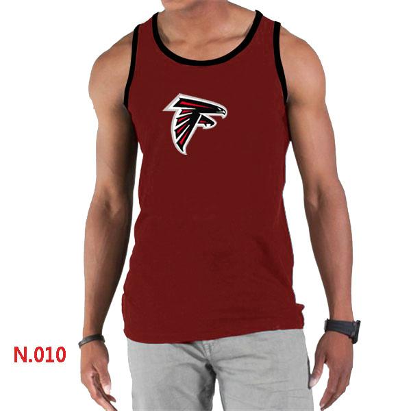 Nike Falcons Sideline Legend Logo men Tank Top Red