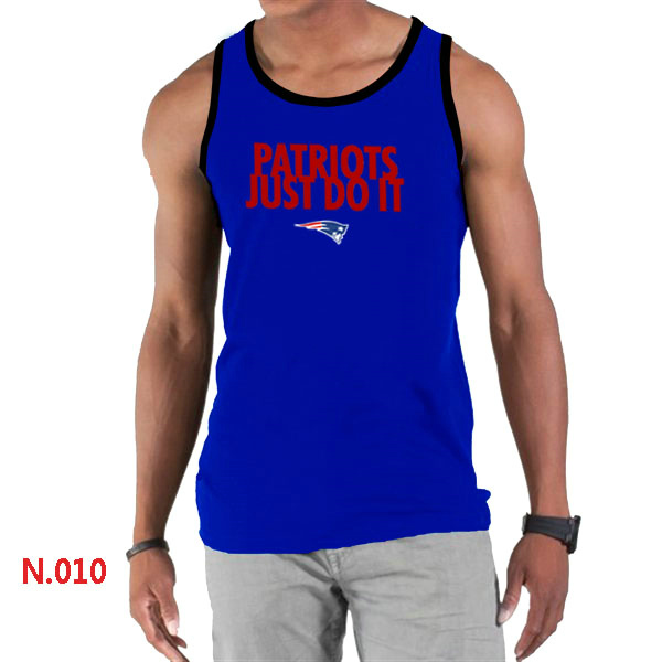 Nike Patriots Sideline Legend Logo men Tank Top Blue3