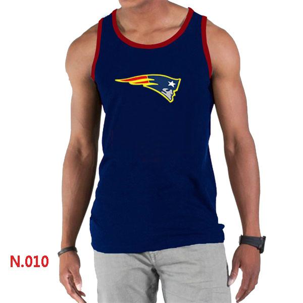 Nike Patriots Sideline Legend Logo men Tank Top D.Blue2