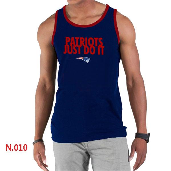 Nike Patriots Sideline Legend Logo men Tank Top D.Blue3