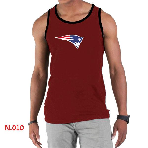 Nike Patriots Sideline Legend Logo men Tank Top Red