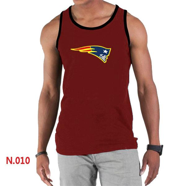 Nike Patriots Sideline Legend Logo men Tank Top Red2