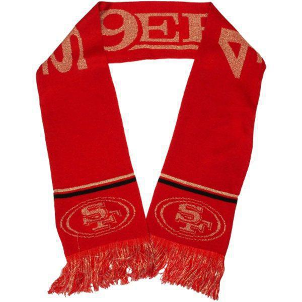 49ers Red Fashion Scarf