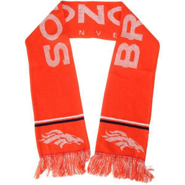 Broncos Orange Fashion Scarf