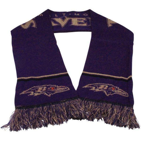 Ravens Purple Fashion Scarf