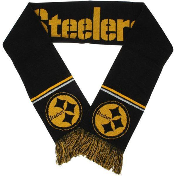 Steelers Black Fashion Scarf