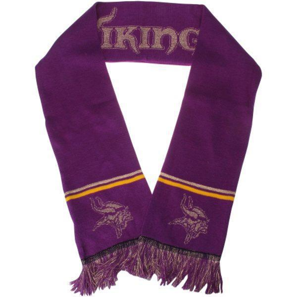 Vikings Purple Fashion Scarf