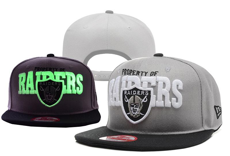 Raiders Fashion Luminous Caps YD