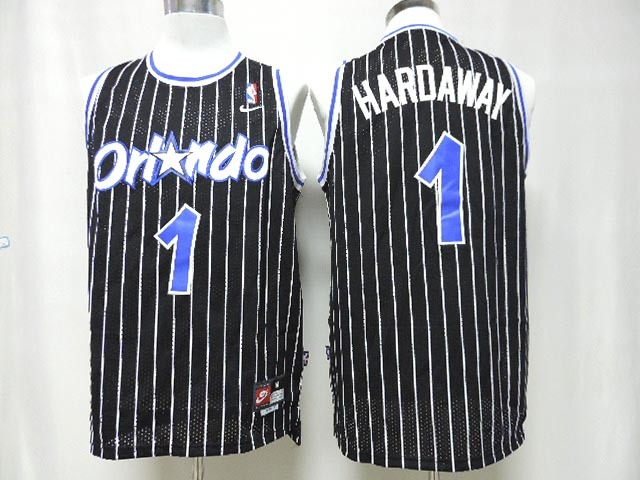 Magic 1 Hardaway Black New Revolution 30 Jerseys