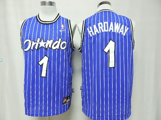 Magic 1 Hardaway Blue New Revolution 30 Jerseys