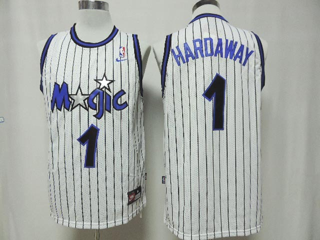 Magic 1 Hardaway White New Revolution 30 Jerseys