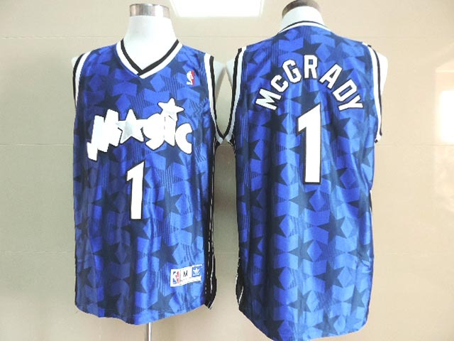 Magic 1 McGrady Blue New Revolution 30 Throwback Jerseys